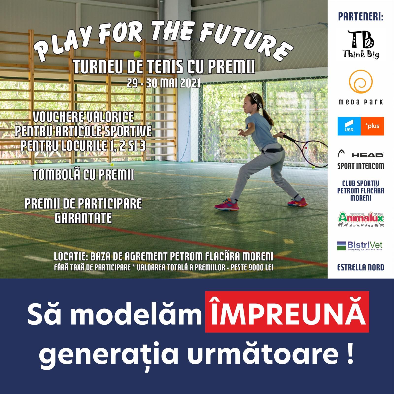 """Meda Park alaturi de turneul """"Play for the future"""""""